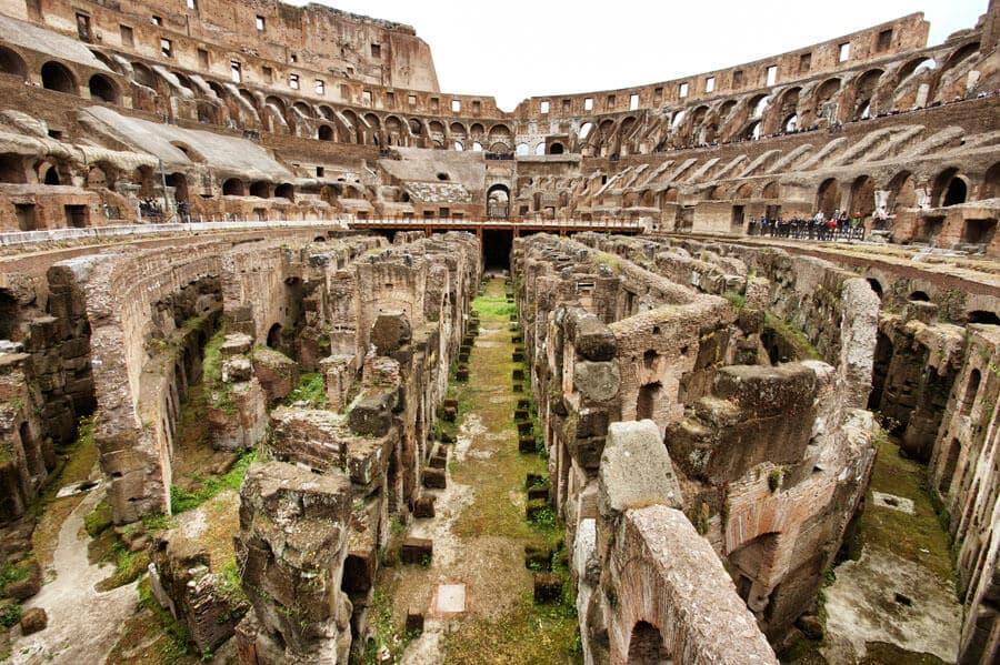 Sobre o passeio pelo Coliseu de Roma na Itália