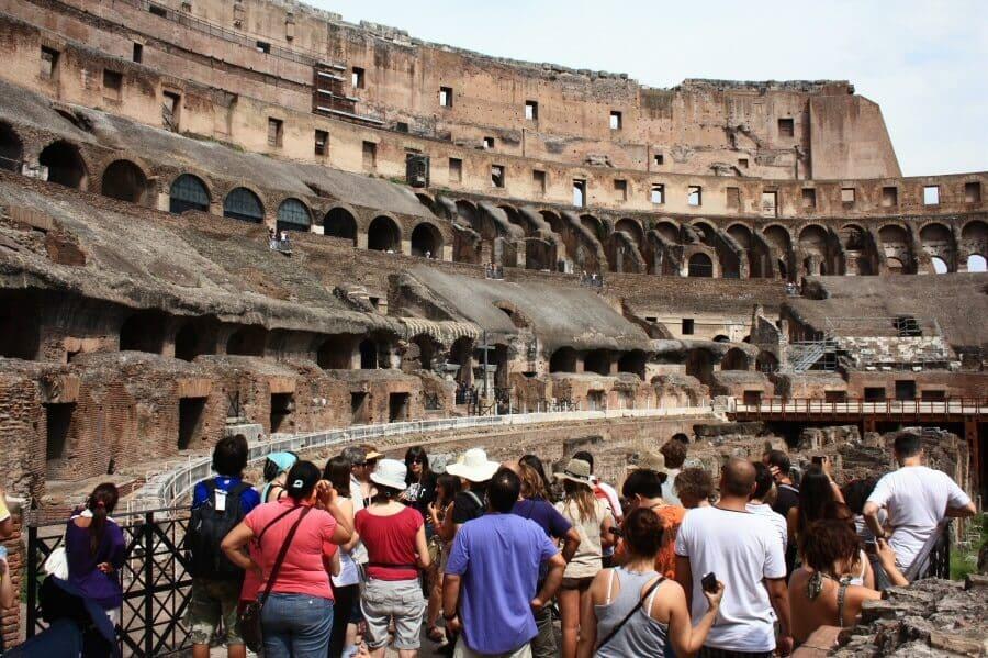 Informações sobre o Coliseu em Roma na Itália