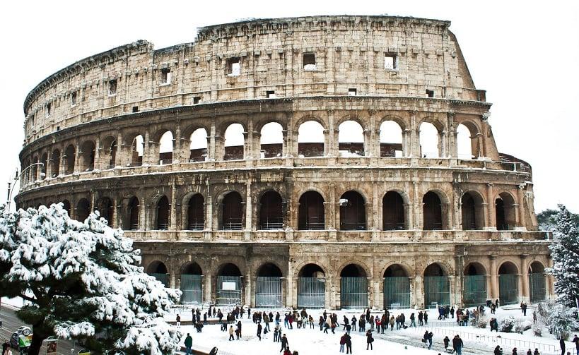 Inverno na Itália