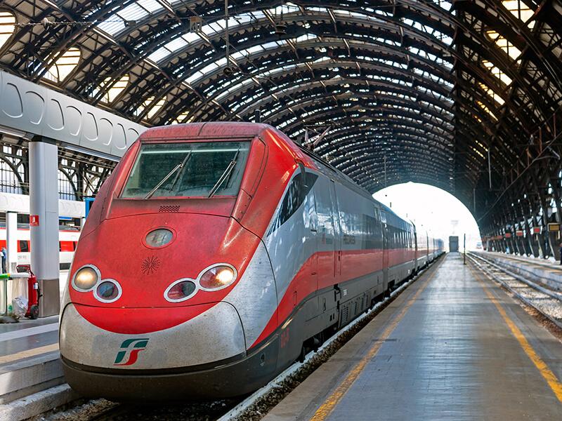 Trem na Itália