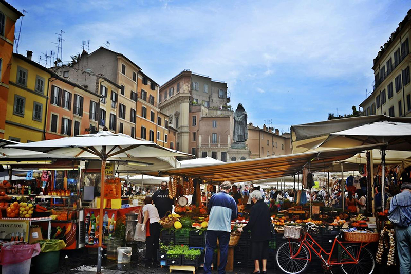 Campo di Fiori em Roma