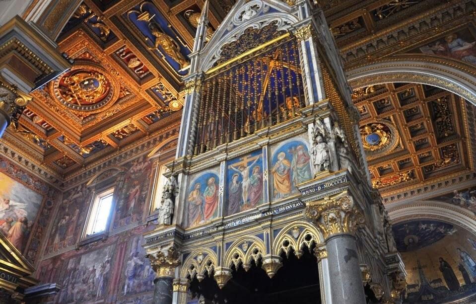 O que ver/fazer no Santuario della Scala Santa em Roma