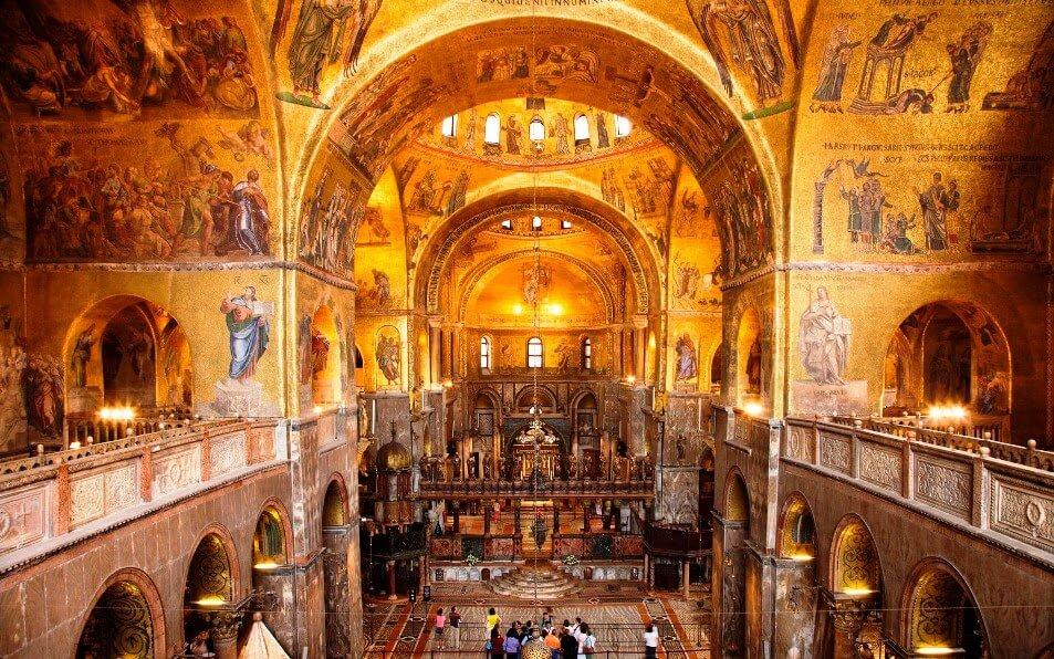O que ver na Basílica de São Marcos em Veneza