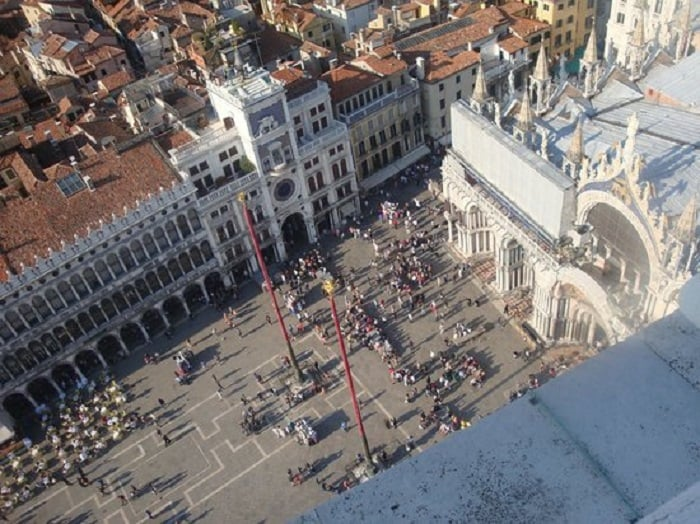 Informações da Torre Veneziana Campinale em Veneza