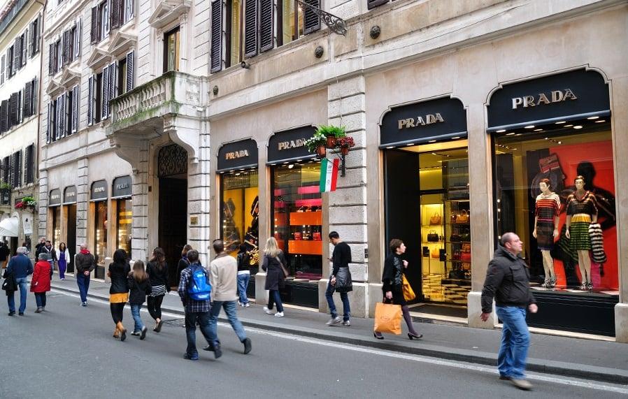 Melhores lojas e ruas para fazer compras em Roma
