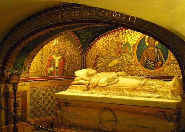 Tesouro na Basílica de São Pedro no Vaticano