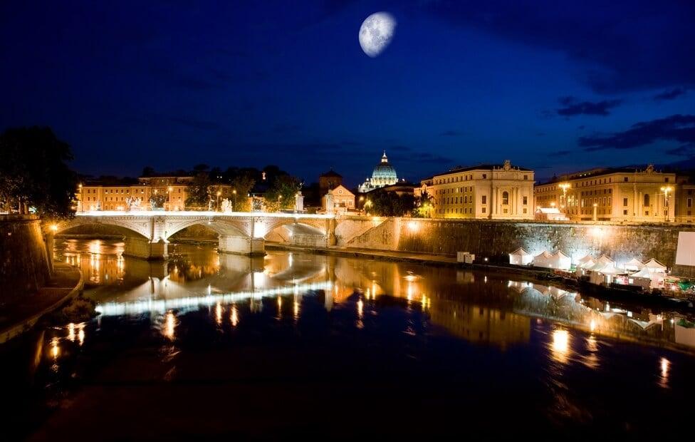 Dicas sobre o que fazer a noite em Roma