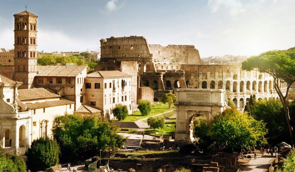 Fuso horário com o horário de verão em Roma