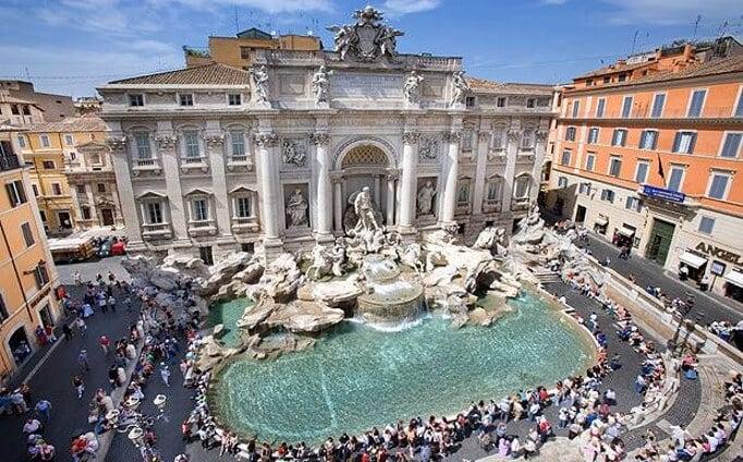 Fontana di Trevi em Roma