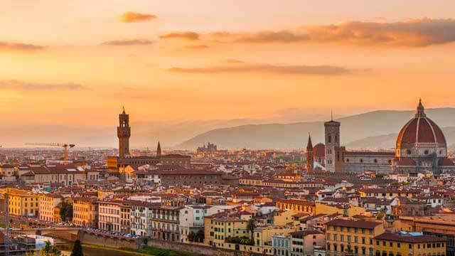 O clima em Florença