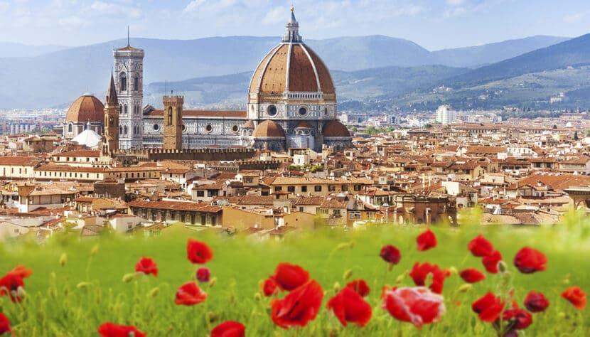 Florença na Itália