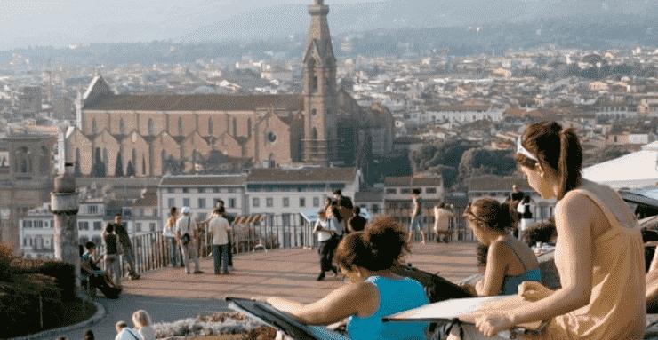 Verão em Florença