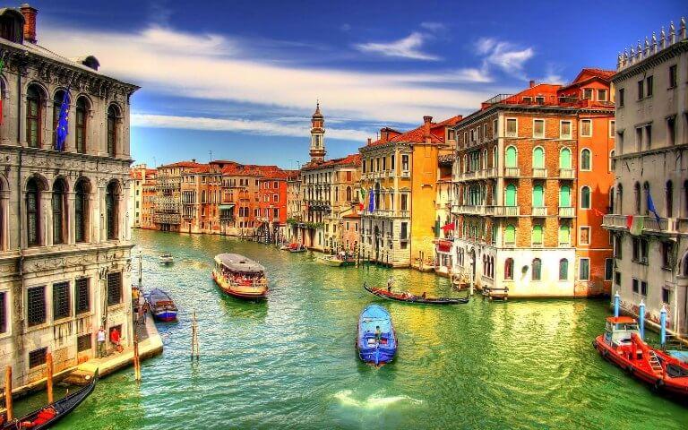 Fuso horário em Veneza x Brasil