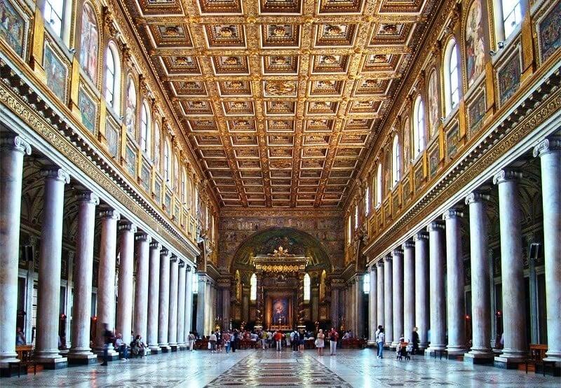 Arquitetura da Basílica de Santa Maria Maior