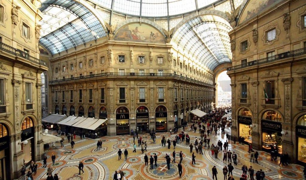 Galeria Vittorio Emanuele II en Milán