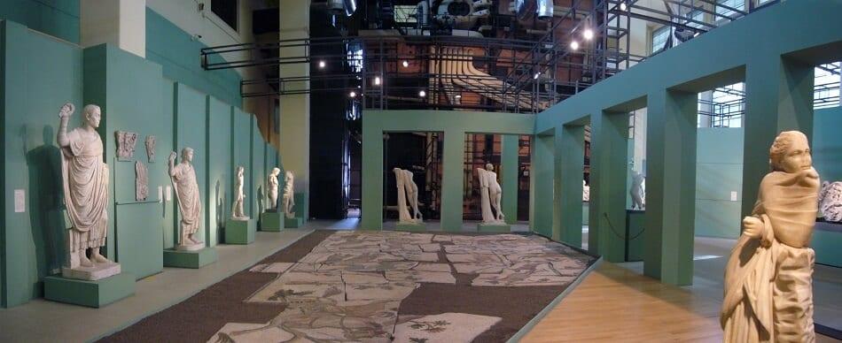 Centrale Montemartini no Museus Capitolinos em Roma