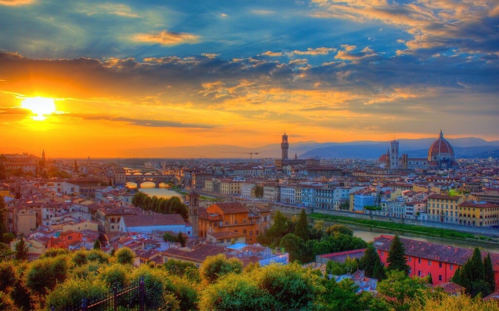 Vista de Florença do Piazzale Michelangelo