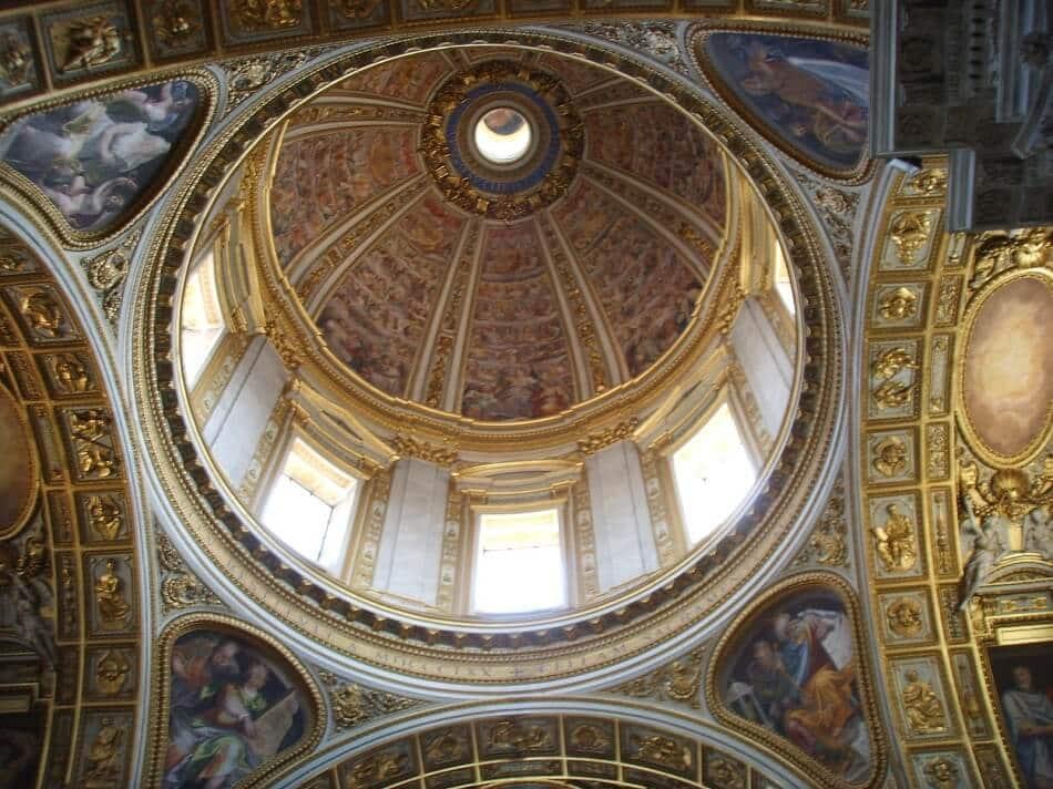 Detalhes da Basílica de Santa Maria Maior