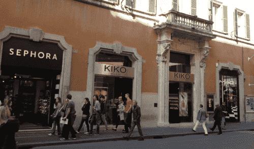 Comprar pergumes na loja Sephora em Roma