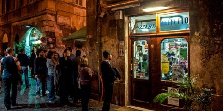 Restaurante Pizzeria Da Baffetto em Roma