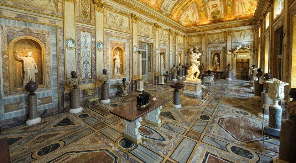 Palácio Clementino-Caffarelli no Museus Capitolinos em Roma