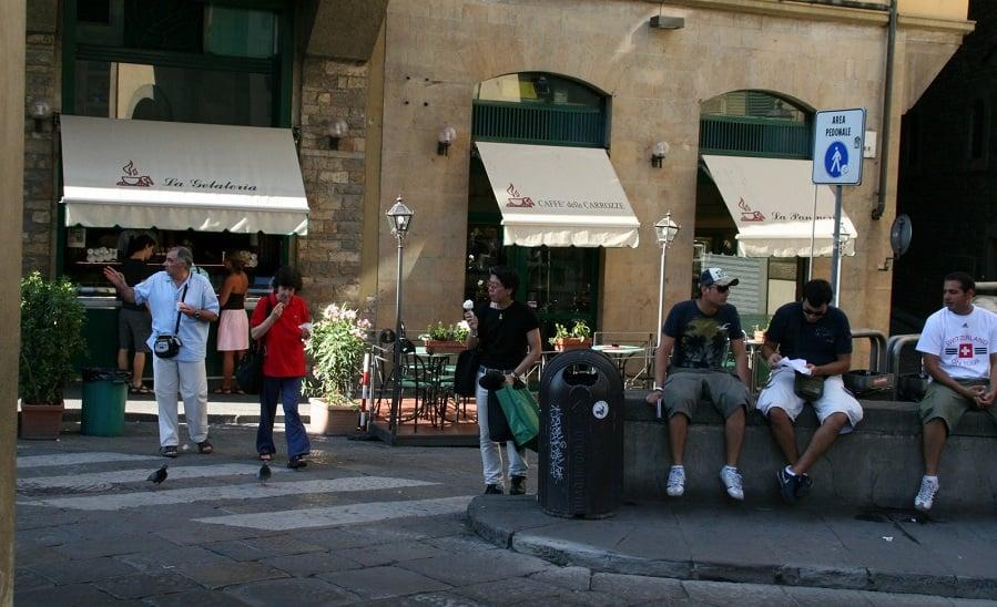 Passeio pela Ponte Vecchio em Florença