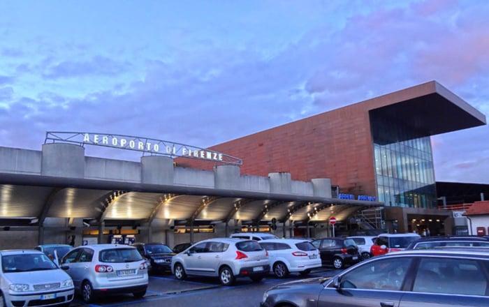 Carro do aeroporto até o centro de Florença