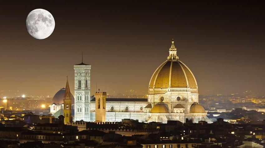 Estrutura da Catedral de Santa Maria del Fiore em Florença