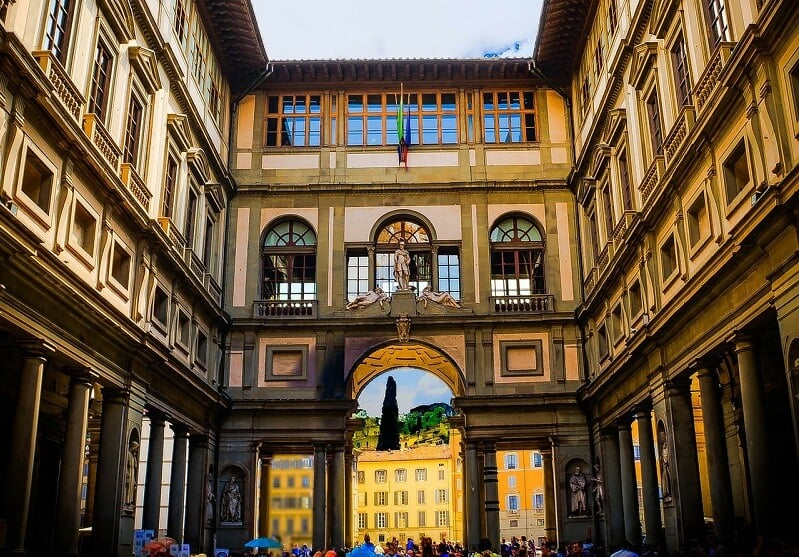 Galeria dos Ofícios em Florença