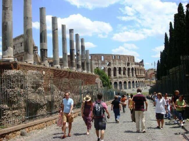 Informações sobre o Monte Palatino em Roma