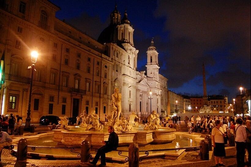 Noite em Roma