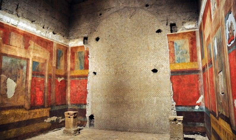Atrativos no Monte Palatino em Roma