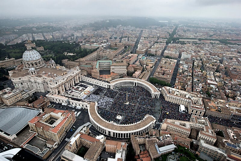 Atrações no Vaticano