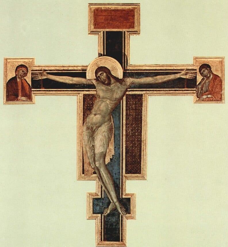 Obras na Basílica de Santa Cruz em Florença