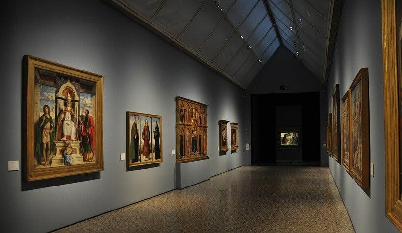 Pinacoteca de Brera em Milão na Itália