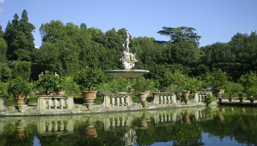 Informações sobre o Jardins de Boboli em Florença