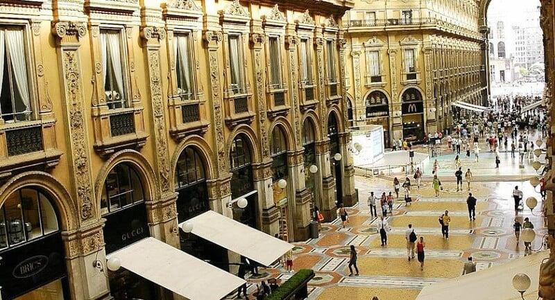 Hotel Seven Stars Galleria na zona turística em Milão