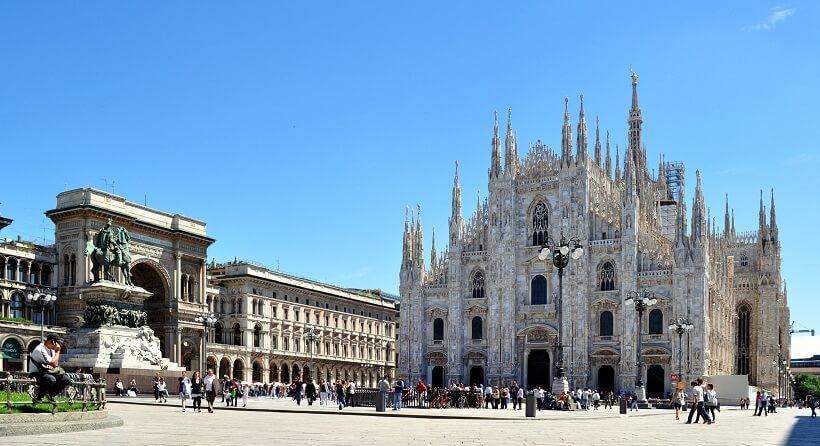 Roteiro de 3 dias em Milão