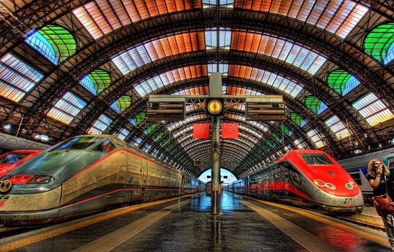 Estação Central de trem de Milão