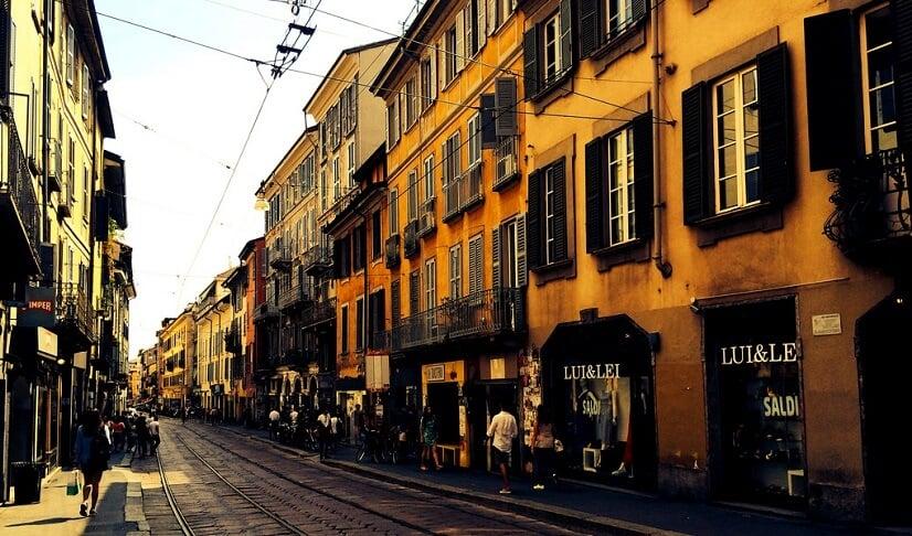 Calor em Milão
