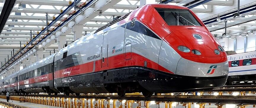 Como andar de trem na Itália