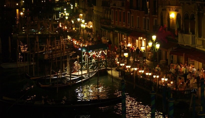 Melhores baladas em Veneza