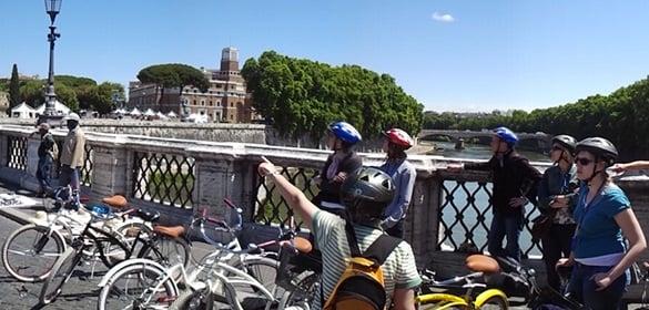 Roma de bicicleta