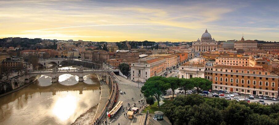 Turismo em Roma na Itália