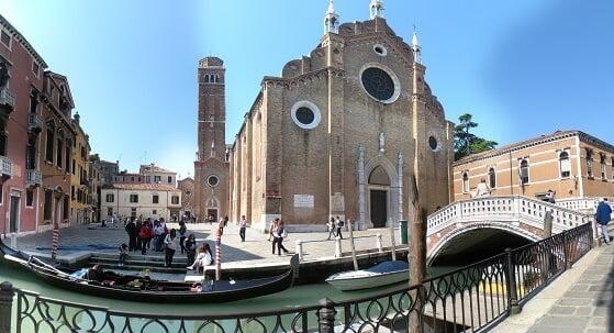 Basílica Santa Maria Gloriosa em Veneza