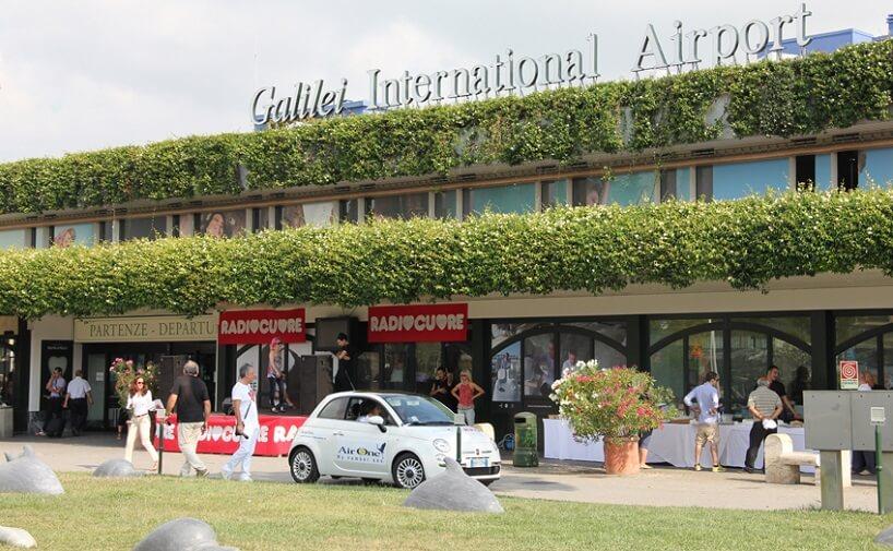 Como ir do aeroporto de Pisa até o centro turístico