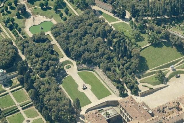 Jardins de Boboli na Itália