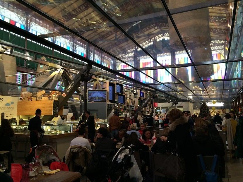 Mercado Central de Florença na Itália