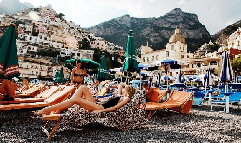 Positano na Costa Amalfitana