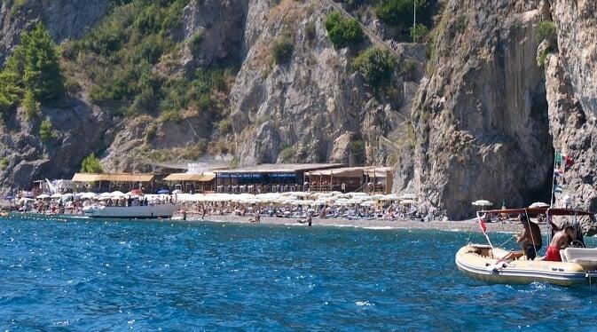 Praia de Castiglione em Ravello